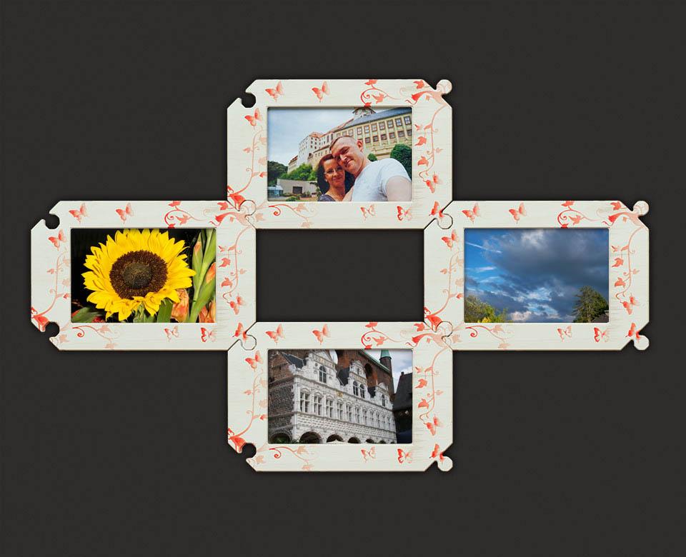 Groß Puzzle Förmigen Bilderrahmen Bilder - Benutzerdefinierte ...